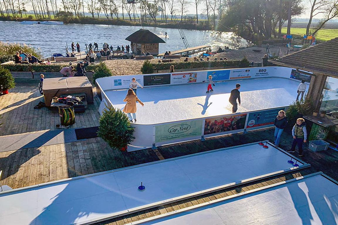 Knokke-Heist - Lakeside Paradise Eisstadion