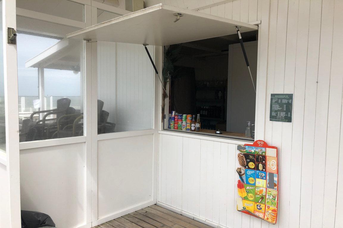 Corona-Cadzand: Strandpavillon Beachhouse 25