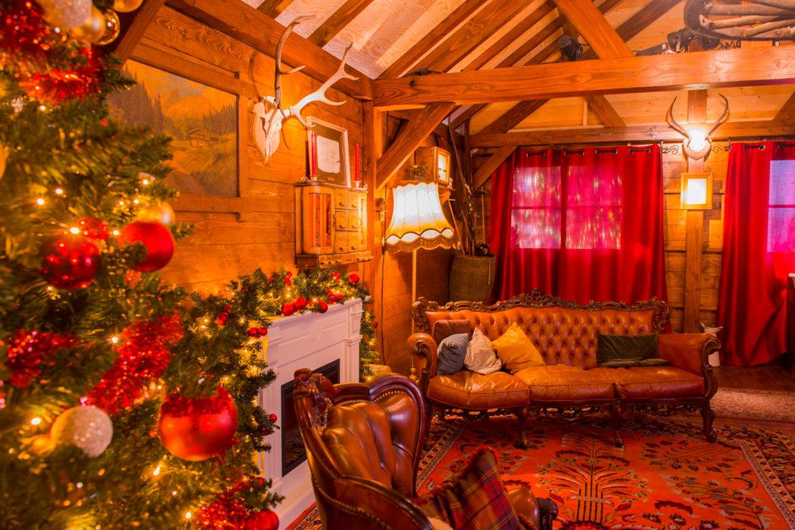 Oostende - Haus vom Weihnachtsmann