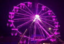 Cadzand-Bad: Riesenrad am Jachthafen